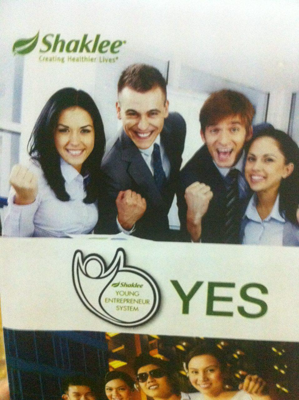 Shaklee YES Young Entrepreneur System Program